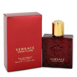 Versace Eros Flame Cologne by Versace 1.7 oz Eau De Parfum Spray