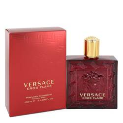 Versace Eros Flame Cologne by Versace 3.4 oz Deodorant Spray