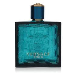 Versace Eros Cologne by Versace, 3.4 oz EDT Spray (Tester) for Men