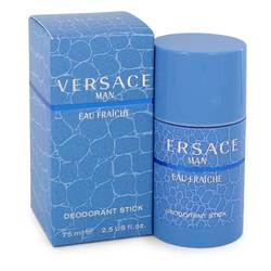 Versace Man Cologne by Versace 2.5 oz Eau Fraiche Deodorant Stick