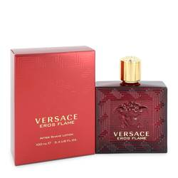 Versace Eros Flame Cologne by Versace 3.4 oz After Shave Lotion