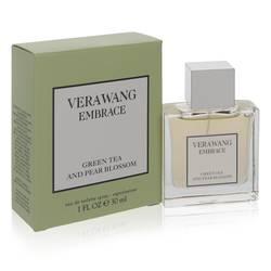 Vera Wang Embrace Green Tea And Pear Blossom Perfume by Vera Wang 1 oz Eau De Toilette Spray