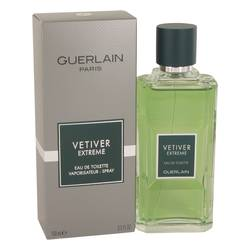 Vetiver Extreme Cologne by Guerlain 3.4 oz Eau De Toilette Spray