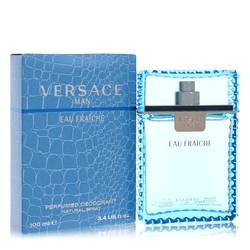 Versace Man Cologne by Versace 3.4 oz Eau Fraiche Deodorant Spray