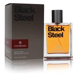Victorinox Black Steel Cologne by Victorinox 3.4 oz Eau De Toilette Spray