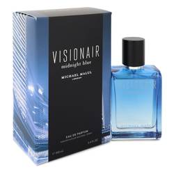Visionair Midnight Blue Cologne by Michael Malul 3.4 oz Eau De Parfum Spray