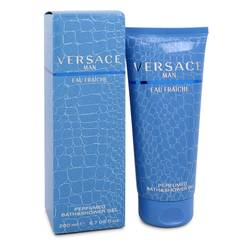 Versace Man Cologne by Versace 6.7 oz Eau Fraiche Shower Gel