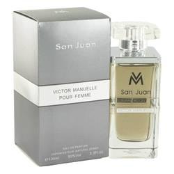 Victor Manuelle San Juan Perfume by Victor Manuelle 3.4 oz Eau De Parfum Spray