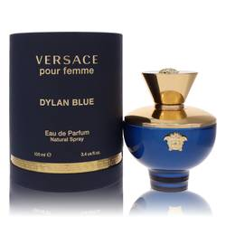 Versace Pour Femme Dylan Blue Perfume by Versace, 3.4 oz EDP Spray for Women