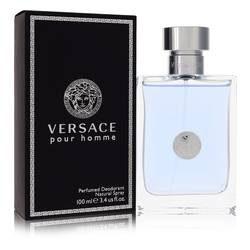 Versace Pour Homme Cologne by Versace 3.4 oz Deodorant Spray