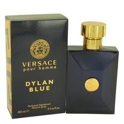 Versace Pour Homme Dylan Blue Cologne by Versace 3.4 oz Deodorant Spray