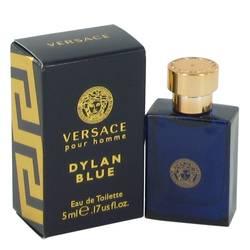 Versace Pour Homme Dylan Blue Cologne by Versace 0.17 oz Mini EDT