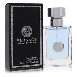 Versace Pour Homme Cologne by Versace 1 oz Eau De Toilette Spray