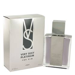 Very Sexy Platinum Cologne by Victoria's Secret 3.4 oz Eau De Cologne Spray
