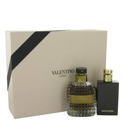 Valentino Uomo Cologne by Valentino -- Gift Set - 3.4 oz Eau De Toilette Spray + 3.4 oz After Shave Balm