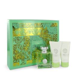 Versace Versense Perfume by Versace -- Gift Set - 1.7 oz Eau De Toilette Spray + 1.7 oz Body Lotion + 1.7 oz Shower Gel
