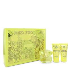 Versace Yellow Diamond Perfume by Versace -- Gift Set - 1.7 oz Eau De Toilette Spray + 1.7 oz Body Lotion + 1.7 oz Shower Gel