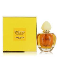 Sublime Perfume by Jean Patou 3.4 oz Eau De Toilette Spray