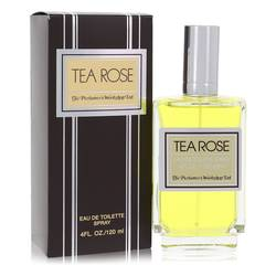 Tea Rose Perfume by Perfumers Workshop 4 oz Eau De Toilette Spray