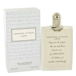 Capri Perfume by Adrienne Vittadini 3.4 oz Eau De Parfum Spray