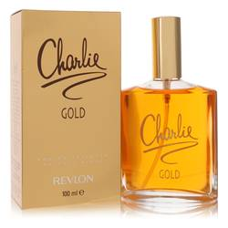 Charlie Gold Perfume by Revlon 3.3 oz Eau De Toilette Spray