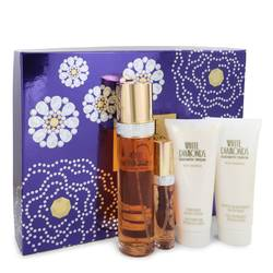 White Diamonds Perfume by Elizabeth Taylor -- Gift Set - 3.4 oz Eau De Toilette Spray + 3.4 oz Body Wash + 3.4 oz Body Cream + .5 oz Mini EDP Spray