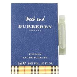 Weekend Cologne by Burberry 0.07 oz Vial (Sample)