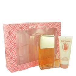 White Shoulders Perfume by Evyan -- Gift Set - 4.5 oz Cologne Spray + .25 oz Mini + 3.3 oz Body Lotion