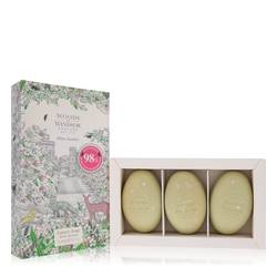 White Jasmine Perfume by Woods of Windsor 2.1 oz Three 2.1 oz Luxury Soaps