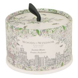 White Jasmine Perfume by Woods of Windsor 3.5 oz Dusting Powder (unboxed)