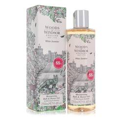 White Jasmine Perfume by Woods of Windsor 8.4 oz Shower Gel
