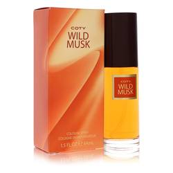 Wild Musk Perfume by Coty 1.5 oz Cologne Spray