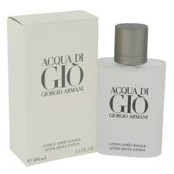 Acqua Di Gio Cologne by Giorgio Armani 3.3 oz After Shave