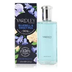 Yardley Bluebell & Sweet Pea Perfume by Yardley London 4.2 oz Eau De Toilette Spray