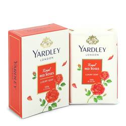 Yardley London Soaps Perfume by Yardley London 3.5 oz Royal Red Roses Luxury Soap