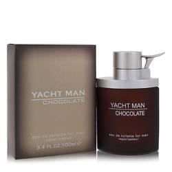 Yacht Man Chocolate Cologne by Myrurgia 3.4 oz Eau De Toilette Spray