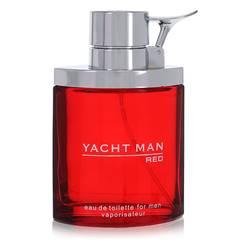 Yacht Man Red Cologne by Myrurgia 3.4 oz Eau De Toilette Spray (unboxed)