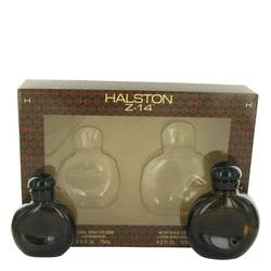 Halston Z-14 Cologne by Halston -- Gift Set - 2.5 oz Cologne Spray + 4.2 oz After Shave
