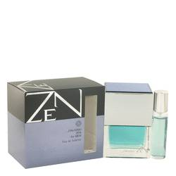 Zen Cologne by Shiseido 3.4 oz Eau De Toilette Spray Plus Free 1/2 oz Mini Spray