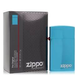 Zippo Blue Cologne by Zippo 3 oz Eau De Toilette Refillable Spray