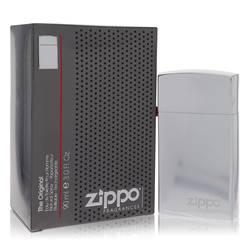 Zippo Silver Cologne by Zippo 3 oz Eau De Toilette Refillable Spray